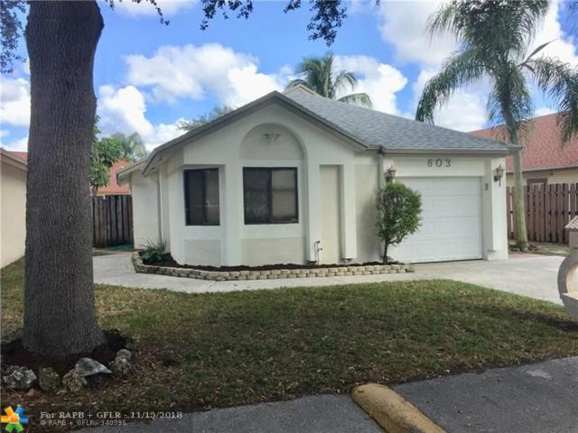 603 Laurel Way, North Lauderdale, FL 33068 (MLS #F10150066) :: Castelli Real Estate Services