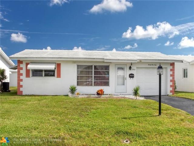 2960 E Golf Blvd, Pompano Beach, FL 33064 (MLS #F10150243) :: Green Realty Properties