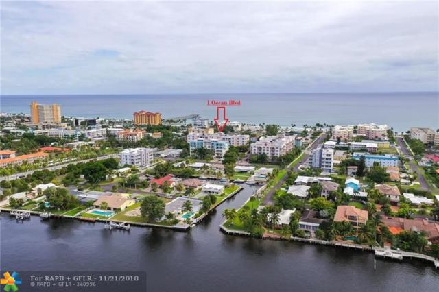 101 SE 20th Ave #306, Deerfield Beach, FL 33441 (MLS #F10150999) :: Green Realty Properties