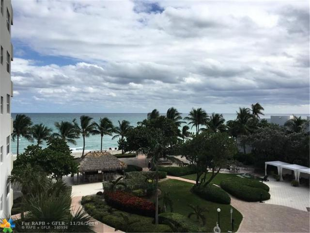 3001 S Ocean Dr. #413, Hollywood, FL 33019 (MLS #F10151047) :: Green Realty Properties