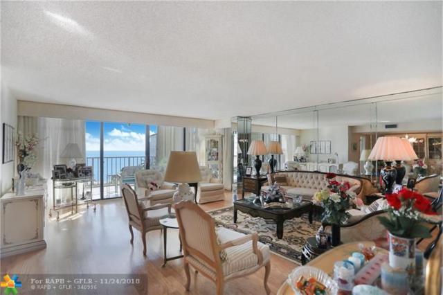 1905 N Ocean Blvd 6F, Fort Lauderdale, FL 33305 (MLS #F10151200) :: Green Realty Properties