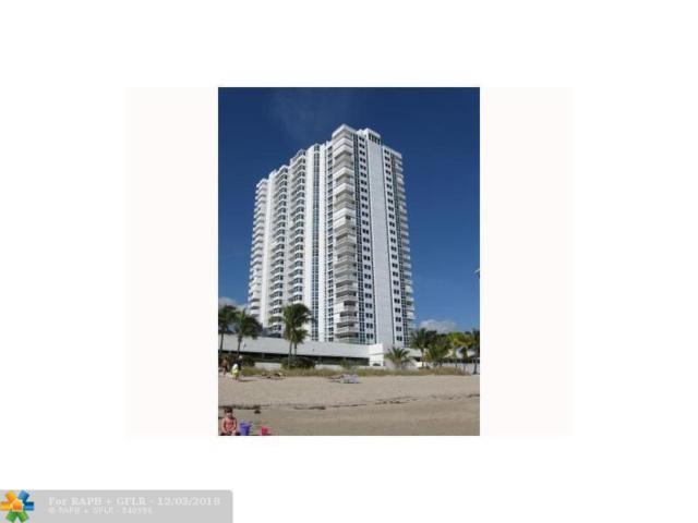 1360 S Ocean Blvd #703, Pompano Beach, FL 33062 (MLS #F10152207) :: Green Realty Properties