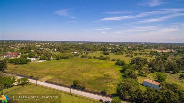 5800 Holatee Trl, Southwest Ranches, FL 33330 (MLS #F10152265) :: Green Realty Properties