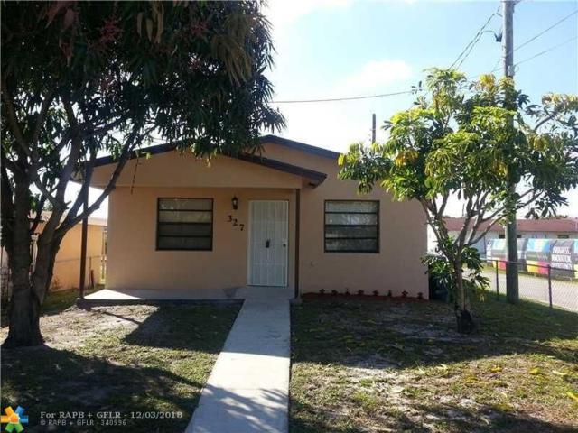 327 NW 1st Ave, Hallandale, FL 33009 (MLS #F10152482) :: Green Realty Properties