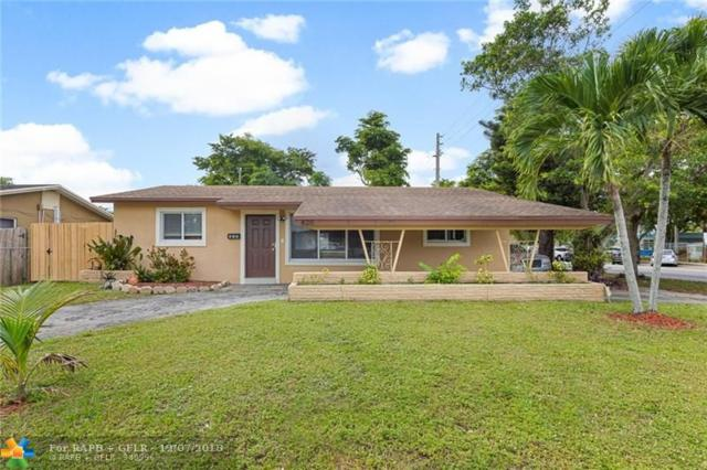 820 N 72nd Ave, Hollywood, FL 33024 (MLS #F10152576) :: Green Realty Properties