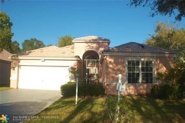 207 NW 116th Ter, Coral Springs, FL 33071 (MLS #F10152604) :: Green Realty Properties
