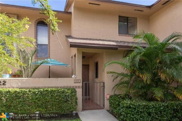 2372 NW 39th Ave #2372, Coconut Creek, FL 33066 (MLS #F10152642) :: Green Realty Properties