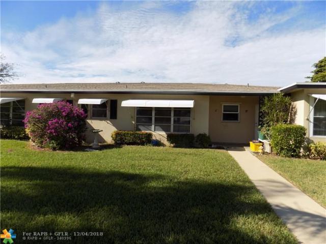 940 S Drive Ter C, Delray Beach, FL 33445 (MLS #F10152665) :: Green Realty Properties