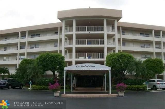 535 Oaks Dr #109, Pompano Beach, FL 33069 (MLS #F10152842) :: Green Realty Properties