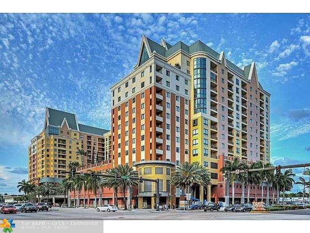110 N Federal Hwy #801, Fort Lauderdale, FL 33301 (MLS #F10152990) :: Green Realty Properties