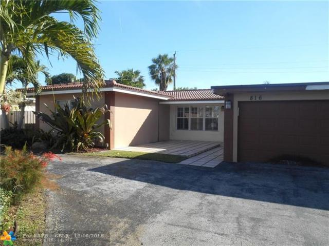 816 NW 30th St, Wilton Manors, FL 33311 (MLS #F10153084) :: The O'Flaherty Team