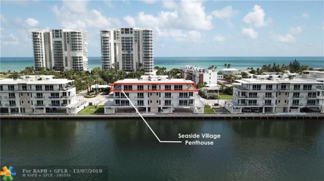 6000 N Ocean Dr Ph, Hollywood, FL 33019 (MLS #F10153129) :: Green Realty Properties