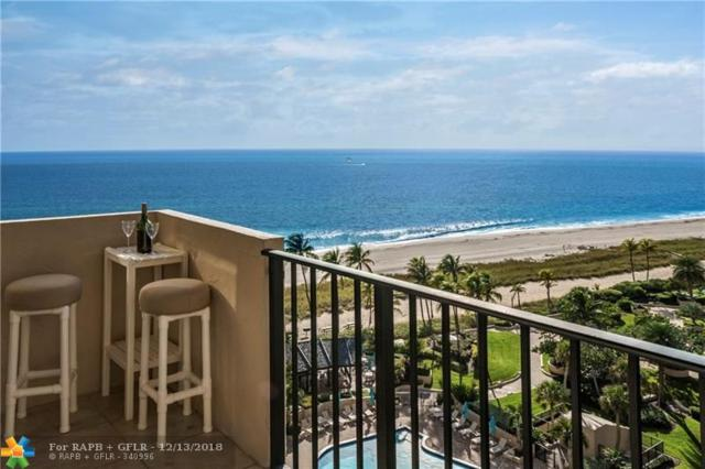 5100 N Ocean Blvd #1103, Lauderdale By The Sea, FL 33308 (MLS #F10153935) :: The Howland Group