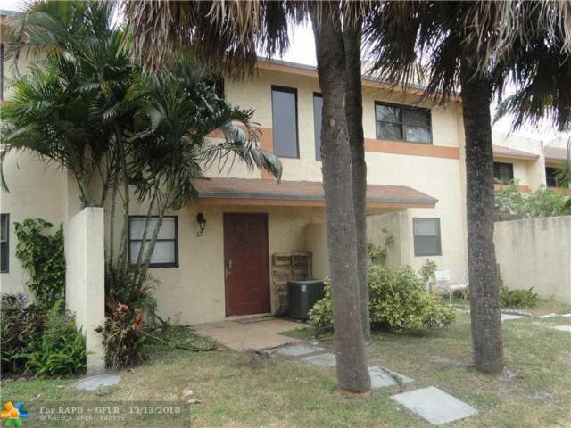 3281 E Golf Blvd #12, Pompano Beach, FL 33064 (MLS #F10153975) :: Green Realty Properties