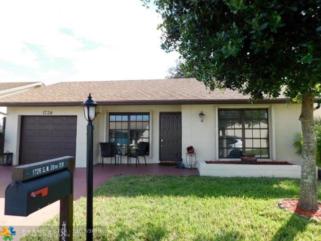 1726 SW 20th Ter, Deerfield Beach, FL 33442 (MLS #F10154049) :: Castelli Real Estate Services