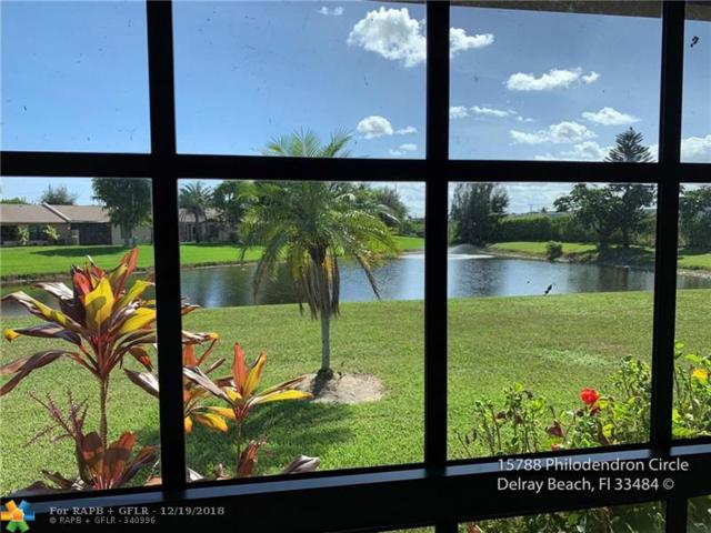 15788 Philodendron Cir, Delray Beach, FL 33484 (MLS #F10154527) :: Green Realty Properties