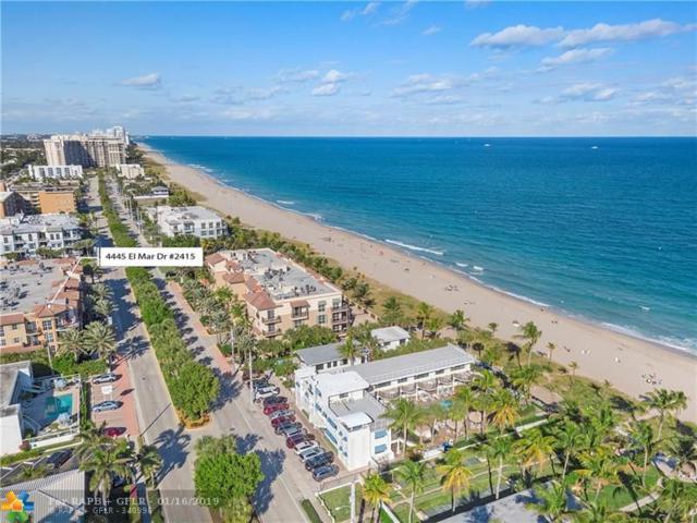 4445 El Mar Dr #2415, Lauderdale By The Sea, FL 33308 (MLS #F10155596) :: Laurie Finkelstein Reader Team