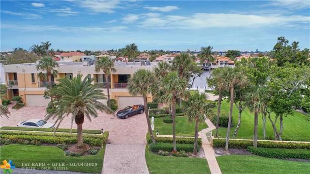 2912 S Ocean Blvd Th3, Highland Beach, FL 33487 (MLS #F10156234) :: Green Realty Properties