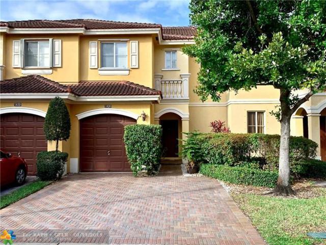 1820 SW 91st Ave #1820, Miramar, FL 33025 (MLS #F10157395) :: Berkshire Hathaway HomeServices EWM Realty