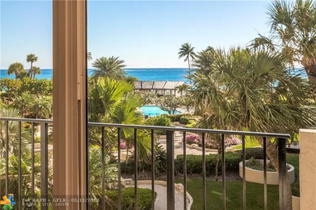 5100 N Ocean Blvd #417, Lauderdale By The Sea, FL 33308 (MLS #F10157402) :: The O'Flaherty Team