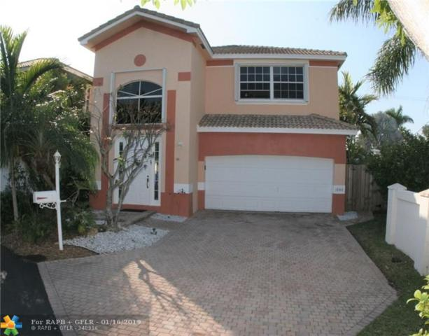 1280 Johnson Ct, Hollywood, FL 33019 (MLS #F10158090) :: Green Realty Properties