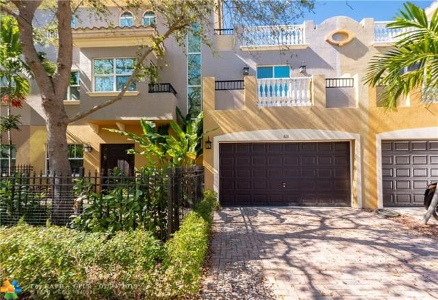 613 NE 11th Ave #613, Fort Lauderdale, FL 33304 (MLS #F10158979) :: The Howland Group