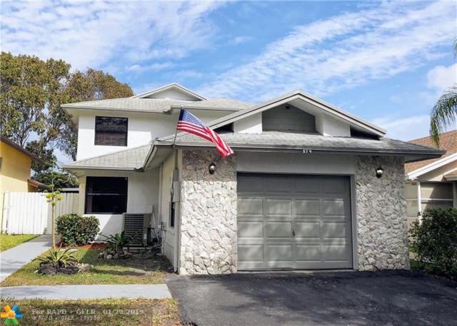 574 Lakeside Cir, Sunrise, FL 33326 (MLS #F10159043) :: Green Realty Properties