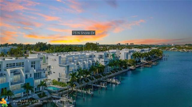 75 N Shore Dr #75, Miami, FL 33141 (MLS #F10159200) :: The Paiz Group