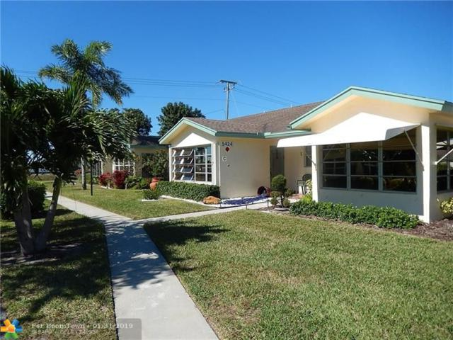5424 Lakefront Boulevard C, Delray Beach, FL 33484 (MLS #F10160736) :: EWM Realty International