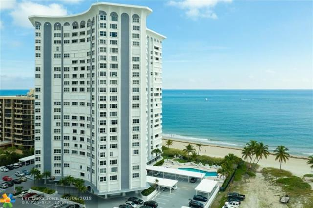 1340 S Ocean Blvd #804, Pompano Beach, FL 33062 (MLS #F10161366) :: The O'Flaherty Team