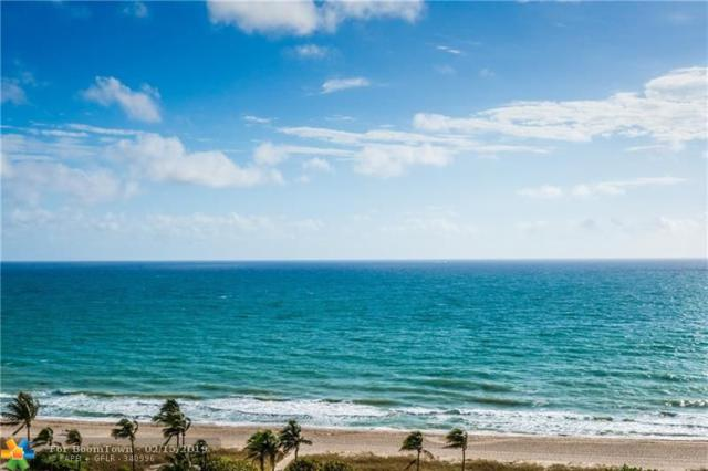 5100 N Ocean Blvd #1518, Lauderdale By The Sea, FL 33308 (MLS #F10162976) :: The Howland Group