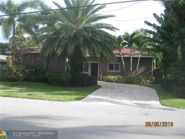 1636 NE 17th St, Fort Lauderdale, FL 33305 (MLS #F10163059) :: Laurie Finkelstein Reader Team
