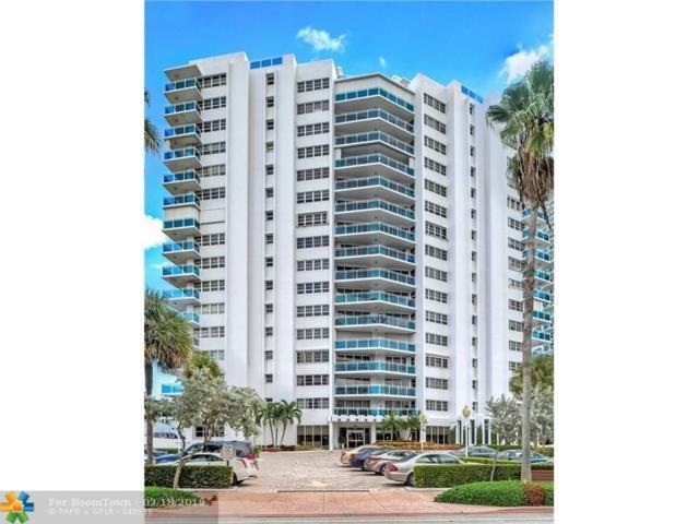 3430 Galt Ocean Dr #1601, Fort Lauderdale, FL 33303 (MLS #F10163239) :: Green Realty Properties