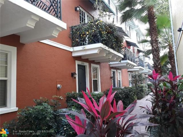 2265 NE 9th Ave #37, Wilton Manors, FL 33305 (MLS #F10163384) :: Castelli Real Estate Services