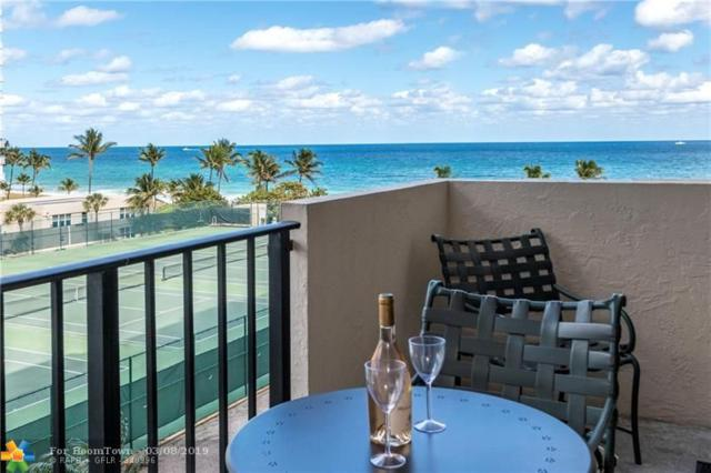 5100 N Ocean Blvd #604, Lauderdale By The Sea, FL 33308 (MLS #F10166141) :: The O'Flaherty Team
