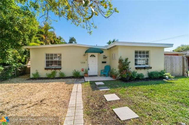 1308 NE 16th Ter, Fort Lauderdale, FL 33304 (MLS #F10166851) :: EWM Realty International