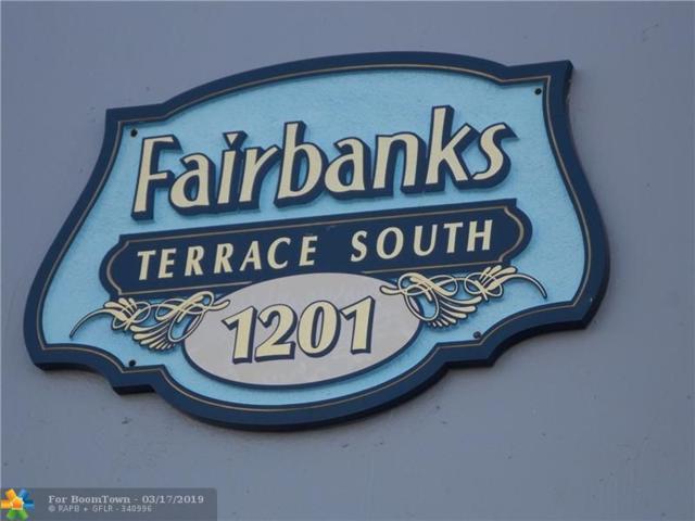 1201 S Riverside Dr #307, Pompano Beach, FL 33062 (MLS #F10167420) :: The O'Flaherty Team