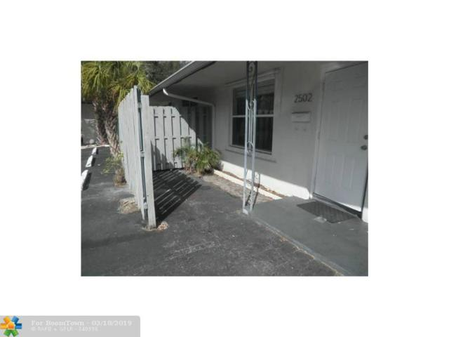 2502 NW 3RD AVE, Wilton Manors, FL 33311 (MLS #F10167607) :: The O'Flaherty Team