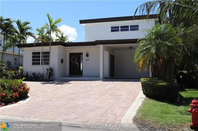 617 Flamingo Dr, Fort Lauderdale, FL 33301 (MLS #F10168754) :: The Howland Group