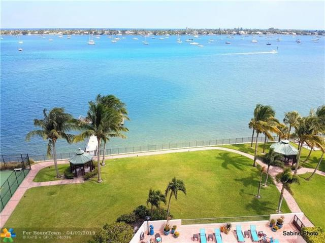 5200 N Flagler Dr #903, West Palm Beach, FL 33407 (MLS #F10169586) :: Green Realty Properties