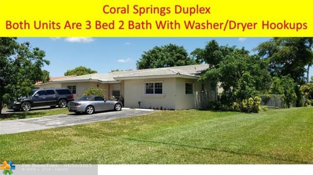 4191 NW 110th Ave, Coral Springs, FL 33065 (MLS #F10169943) :: Laurie Finkelstein Reader Team