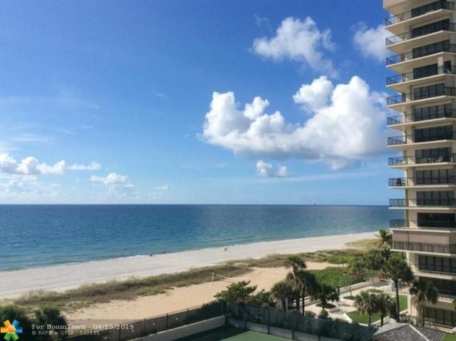1770 S Ocean Blvd #606, Lauderdale By The Sea, FL 33062 (MLS #F10170714) :: Castelli Real Estate Services