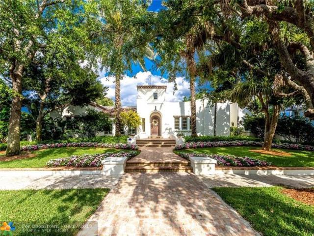 1320 Ponce De Leon Dr, Fort Lauderdale, FL 33316 (MLS #F10171360) :: Green Realty Properties