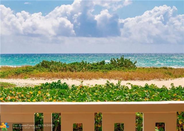 1012 N Ocean Blvd #101, Pompano Beach, FL 33062 (MLS #F10171928) :: Patty Accorto Team