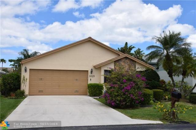 1315 NW 25th Ln, Delray Beach, FL 33445 (MLS #F10172521) :: Berkshire Hathaway HomeServices EWM Realty