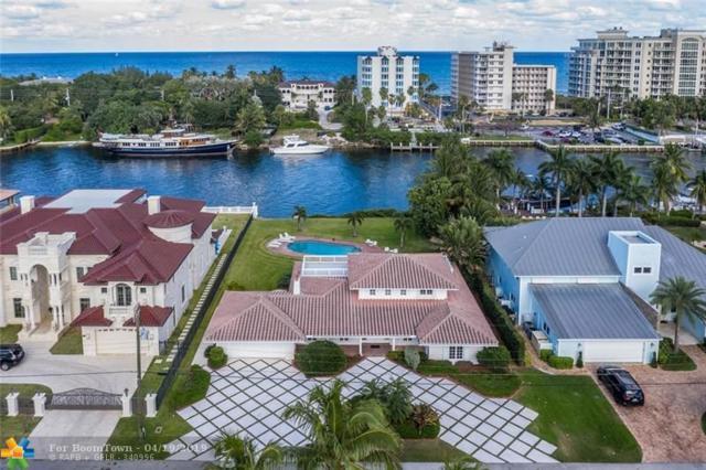 4140 NE 31st Ave, Lighthouse Point, FL 33064 (MLS #F10172566) :: Castelli Real Estate Services