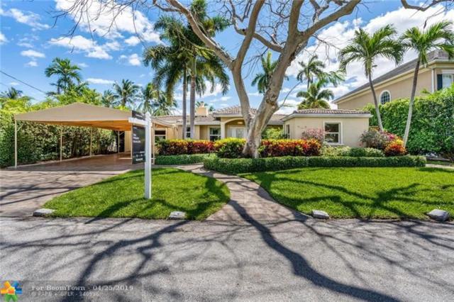 508 Solar Isle Dr, Fort Lauderdale, FL 33301 (MLS #F10172960) :: Laurie Finkelstein Reader Team