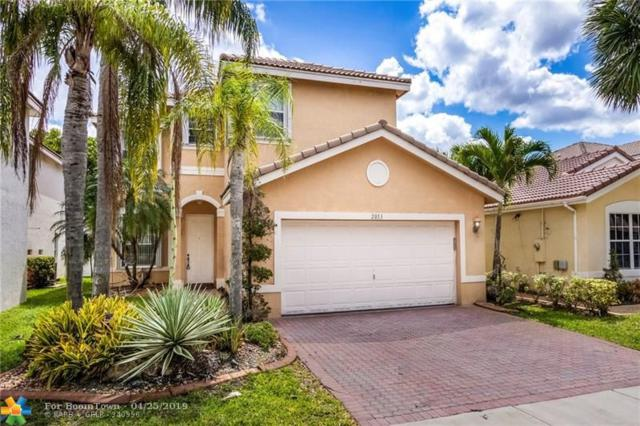 2053 SW 149th Ave, Miramar, FL 33027 (MLS #F10173149) :: EWM Realty International