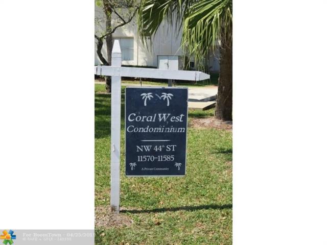 11581 NW 44th St #11581, Coral Springs, FL 33065 (MLS #F10173278) :: Laurie Finkelstein Reader Team