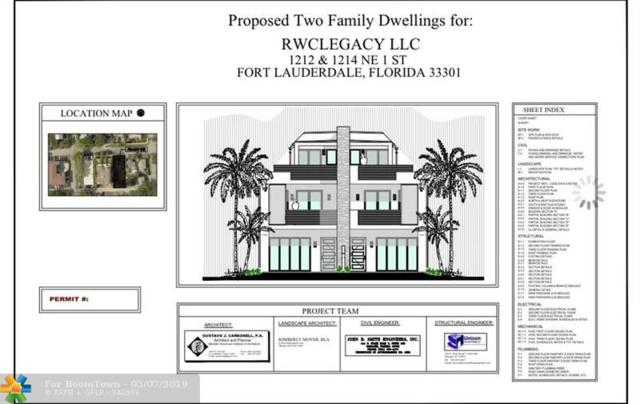 1212 NE 1 A, Fort Lauderdale, FL 33301 (MLS #F10174543) :: Berkshire Hathaway HomeServices EWM Realty